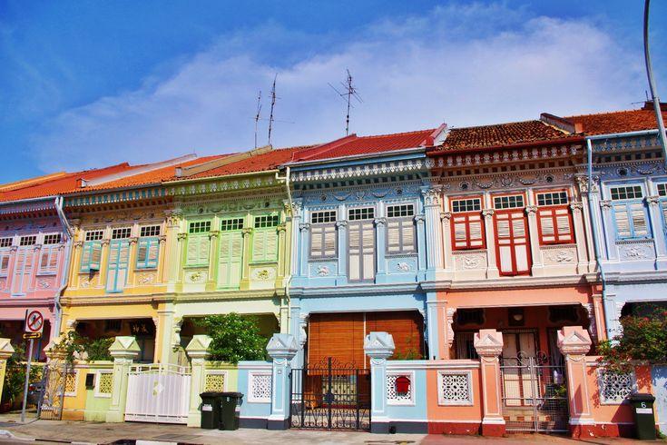 カトンのカラフルなプラナカンのショップハウス Singapore | *wagamama travel*