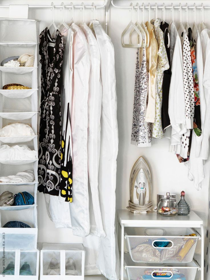 Ikea algot inspiration bedroom closet pinterest ikea for Bedroom storage inspiration