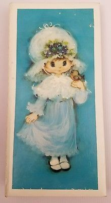 Hallmark-Photo-Album-1972-Instamatic-Photos-72-3-5-034-x-3-5-034-Picture-Blue-Girl