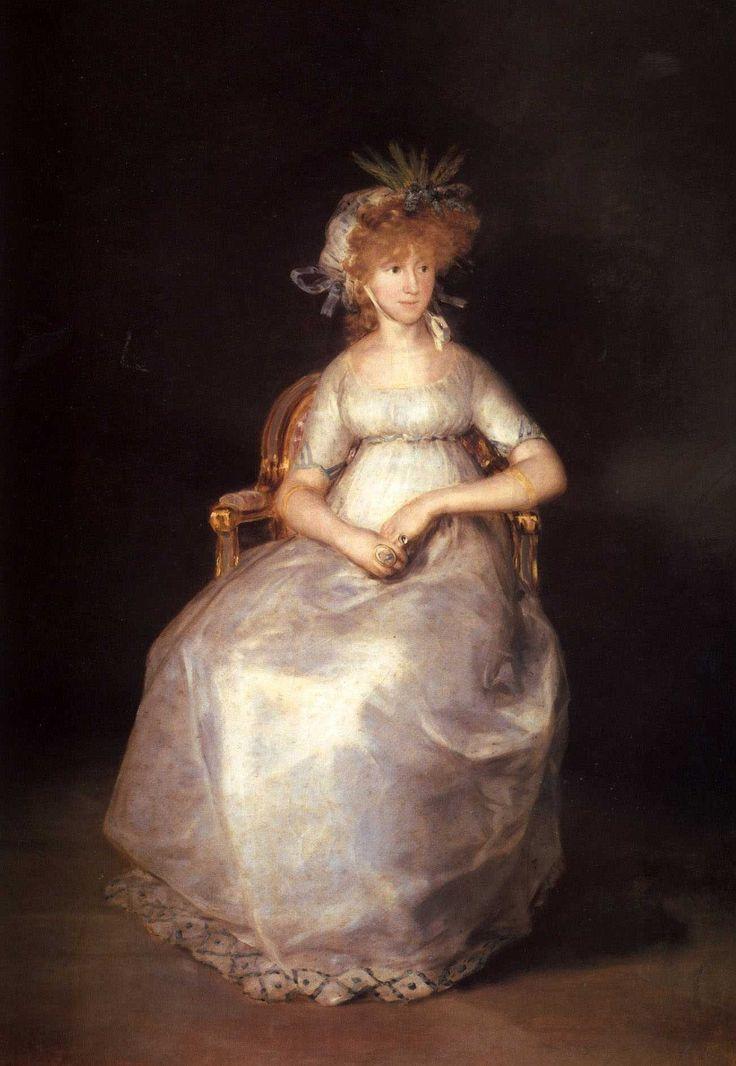 La condesa de Chinchón de Francisco de Goya