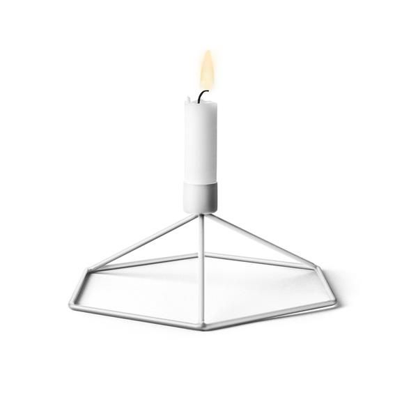 Menu POV Candleholder Table Designer: Note Manufactured by: Menu Dimensions (in): 8.3 l   7.3 w   3.1 h POV Candle Holder is a light, smart and playful product
