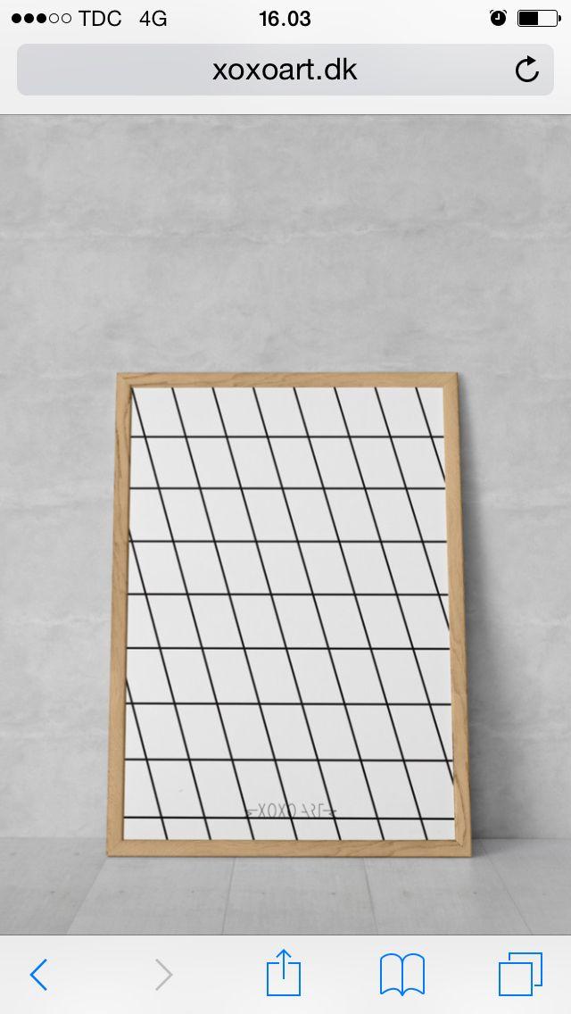 #illustration fra www.xoxoart.dk #living #decor #home #plakat #xoxoart