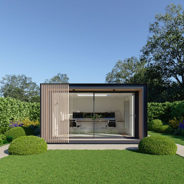 garden room | office || Sky Pod A Large Outdoor Leisure Space Built To Last