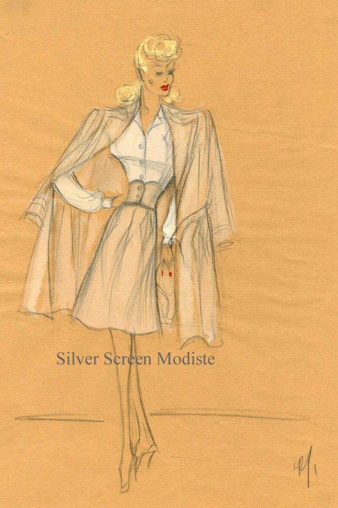 Edith sketch for Betty Hutton
