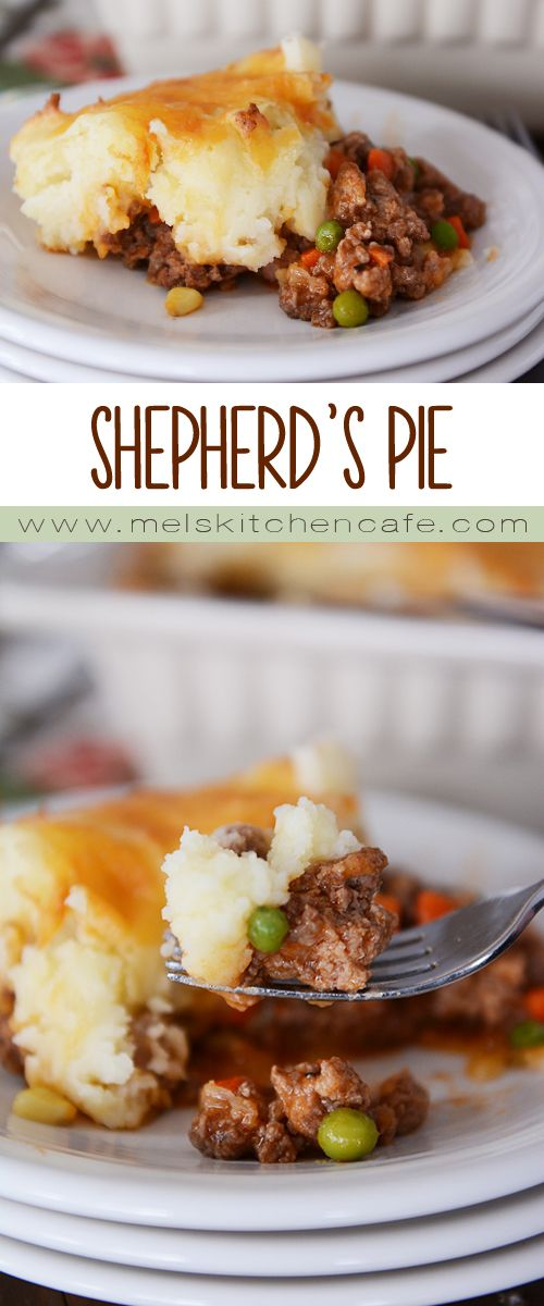 For pure comfort food at it's best, this Shepherd's Pie can't be beat.