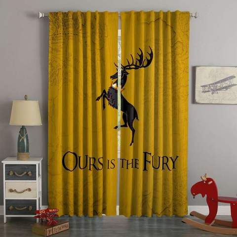3d Printed Game Of Thrones Style Custom Living Room Curtains Custom Curtains In 2019 Curtains Custom Curtains 3d Curtains