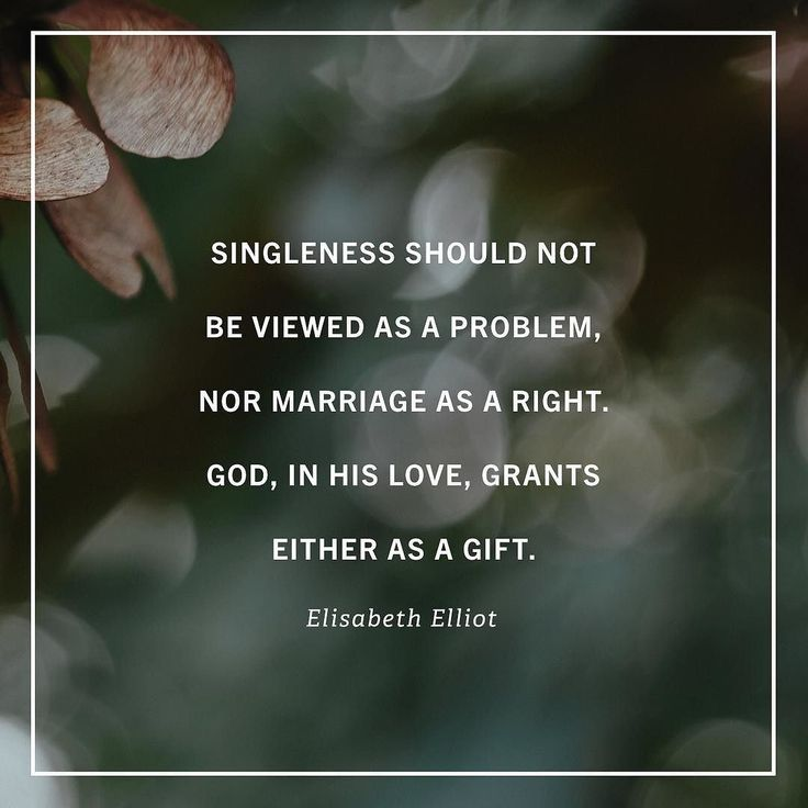 """""""I was confronted with the reality that I had grown up expecting to be married. This is what I wanted so of course God would give it to me I thought. But in Elisabeth Elliots no-nonsense way she corrected my faulty thinking and completely realigned my per"""