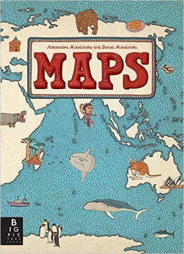 Maps: Aleksandra Mizielinska, Daniel Mizielinski: 8601400375570: Books - Amazon.ca