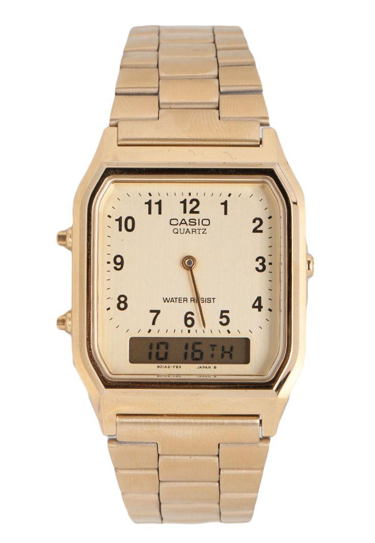 Relógio Casio AQ-230GA-9BMQ Dourado                                                                                                                                                                                 Mais