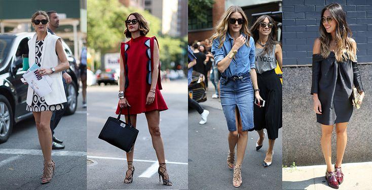 Best Street Styles At New York Fashion