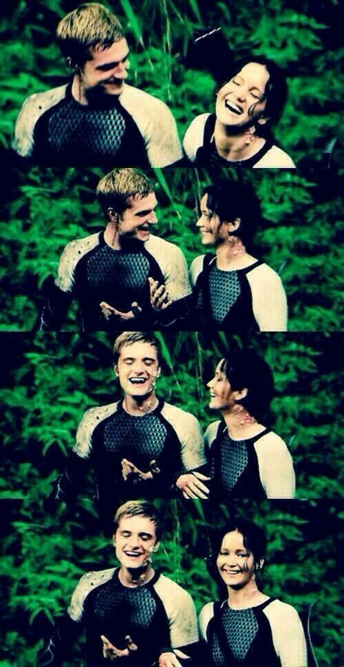 Adore them!<< I find these pictures odd bc in the movie they are crying in pain from the mist, and right then here they are, laughing and smilin.