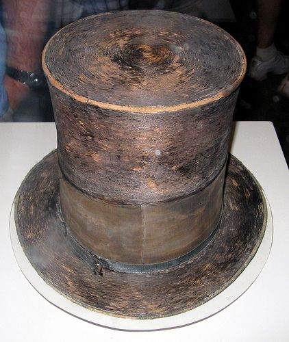 Abraham Lincoln Hat   ... national museum of american history abraham lincoln s top hat 1