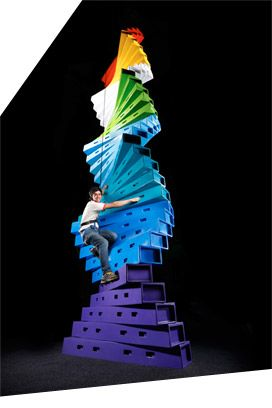 Clip N Climb Melbourne (Richmond) $18.50 for intro and 1hr session