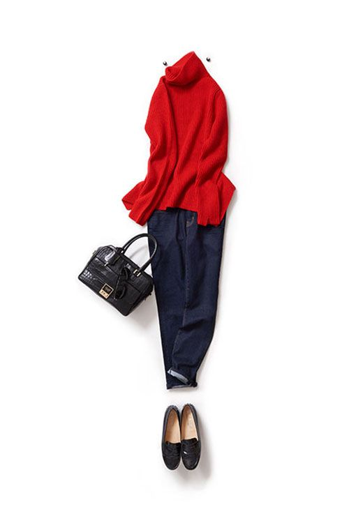 Kyoko Kikuchi's Closet | 華やかな赤をかっこよく着たい気分