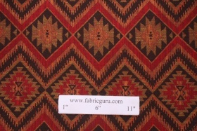 Dorell Otero Tapestry Upholstery Fabric in Cayenne $9.95 per yard