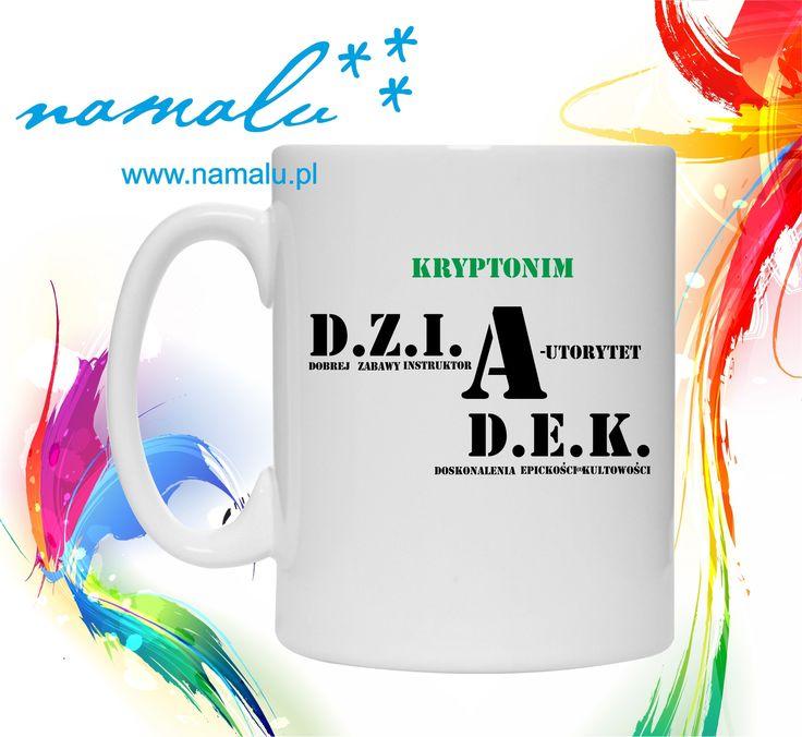 http://namalu.pl/kubki/389-kubek-kryptonim-dziadek.html  kubek mug śmieszny zabawny prezent funny gift for grandpa dla dziadziusia dzień dziadka kawa herbata kuchnia akcesoria