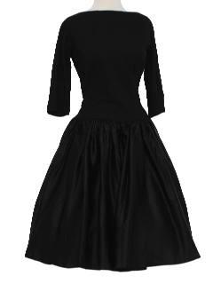 dress circa 1950