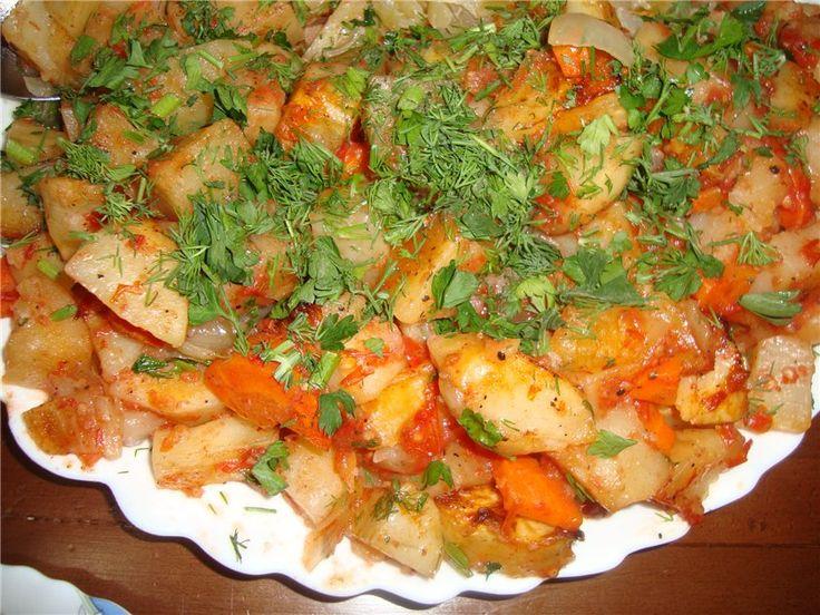 Наивкуснейшая картошка в духовке! Фирменный рецепт - Простые рецепты Овкусе.ру
