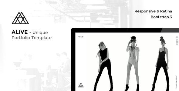 ALIVE - Portfolio for Creatives & Agency