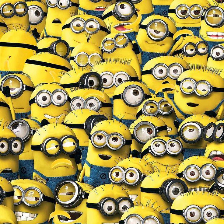 Avalanche de Minions pour le jeu du jour  Sur la photo se cachent plusieurs Bananes arriverez vous à toute les trouver ?  #lovehivency #game #guessit #playwithus #minions #moimocheetmechant3 #blog #blogger #influenceurs