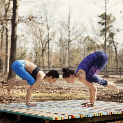 how to build an outdoor yoga temple