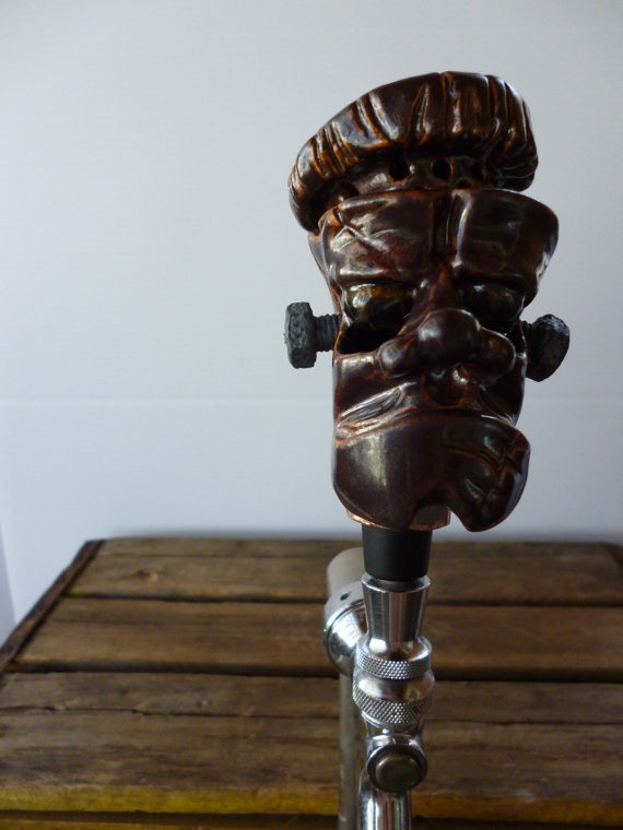 Copper Monster Tap Handle by miserybaypottery on Etsy, $100.00Monsters Taps, Taps Handles, Copper Monsters