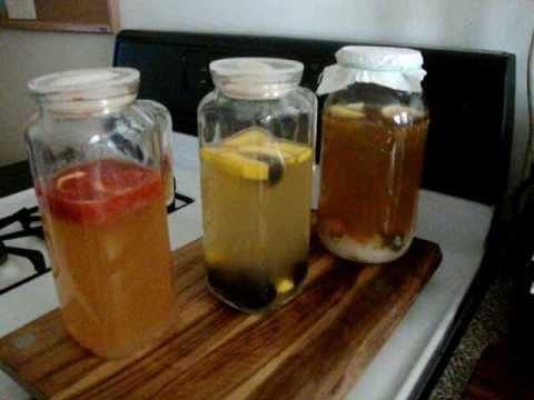 How to make Flavored Water Kefir - Part II  I love Zoe's simple approach!  This is how I learned how to make Ginger Water Kefir!