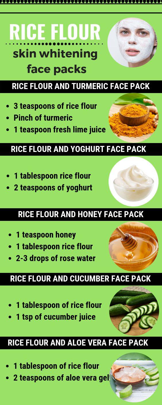 Rice Skin Whitening Face Packs für eine helle Haut – Me time