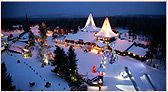 Take the kids to Rovaniemi, Lapland, Finland to Santa's Village in December. Take a photo with one foot planted on either side of the Arctic Circle. Go to the reindeer farm for a Magic Sleighride. Check. Did all except try a cloudberry dessert. I think Santa Park is WAY better IMHO!