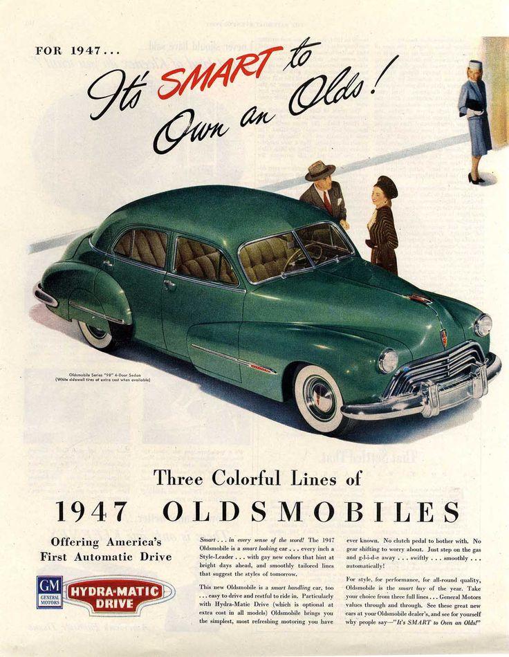 17 best images about cars 1941 1950 on pinterest cars for 1947 oldsmobile 4 door sedan