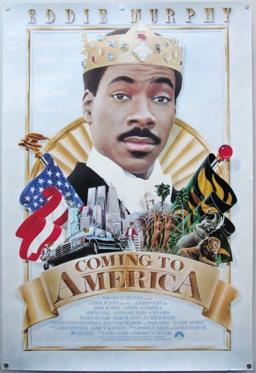 Coming To America: Movie Posters, Movie Pt, Classic Movie, Inspiration Movie, Comingtoamerica Onesheet, Movie Stuff, Movie Night, Favorite Movie, 200 Movie