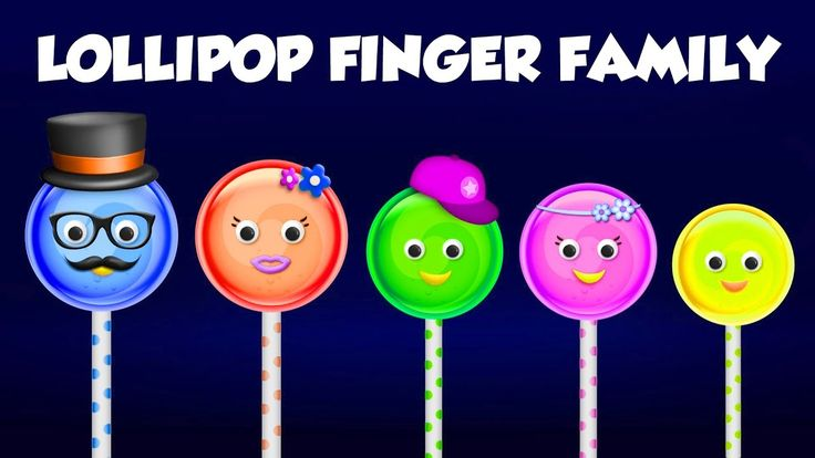Lollipop Finger Family Song - Daddy Finger Song - Finger Family Collection
