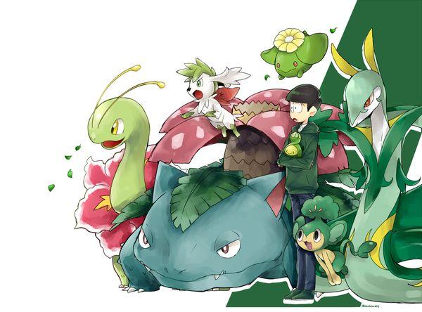 Osomatsu-san- Choromatsu #Anime「♡」Pokemon