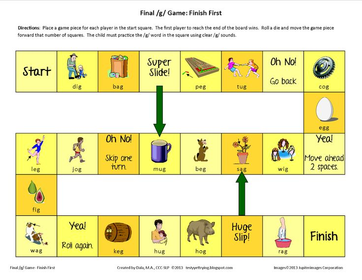 19 best images about K & G Speech Therapy Activities on ...