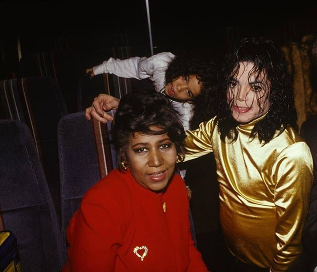 ...Aretha Franklin and Michael