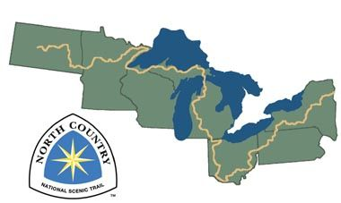 The North Country Trail.  Longest scenic trail in the US. Have only hiked the Lilley, MI and PA portion.