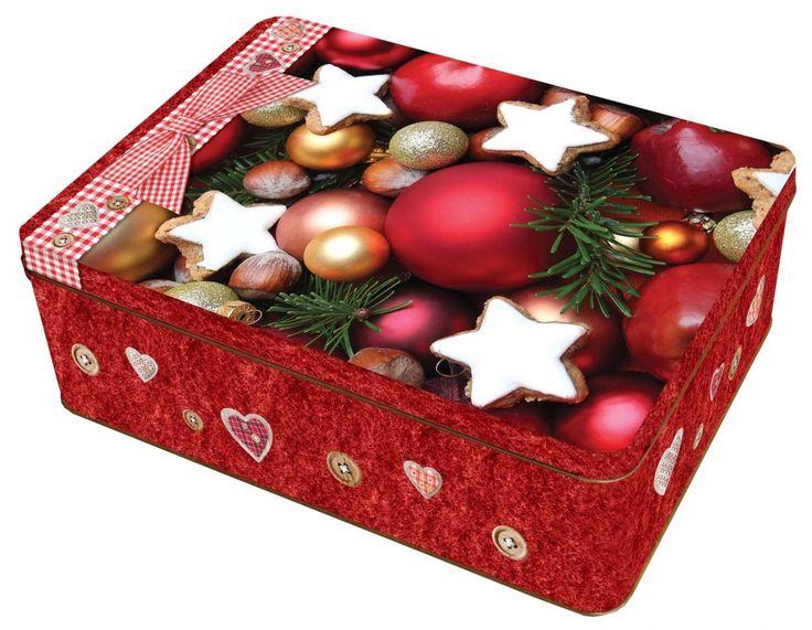 Velká plechová dóza - Sweet Christmas č. 22/216517 BOX3