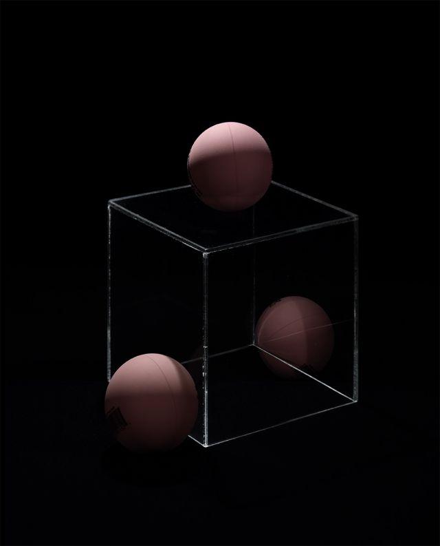 Lorne Blythe, A Little Ball (Cubed), 2012 year