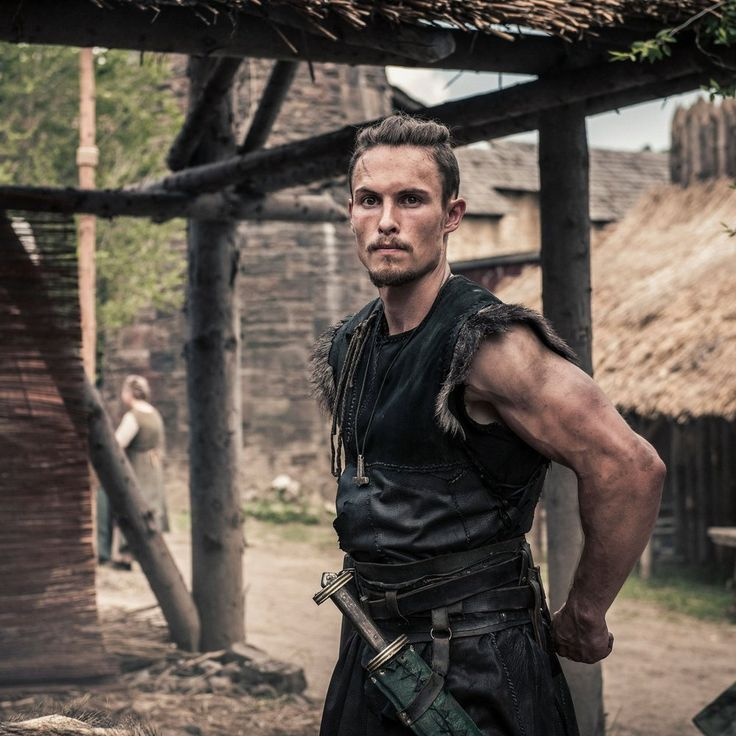 "Arnas Fedaravicius as Sihtric in ""The Last Kingdom"" Season 2 http://www.imdb.com/title/tt4179452"
