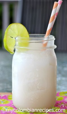 Coco Loco (Colombian Coconut Cocktail)