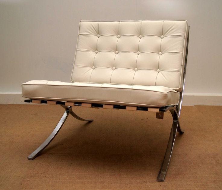 Barcelona Chair - Ludwig Mies van der Rohe ca.1929