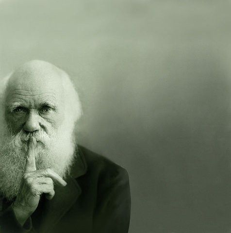 "Charles Darwin: ""Don't tell anybody that they didn't come from above but from below"""