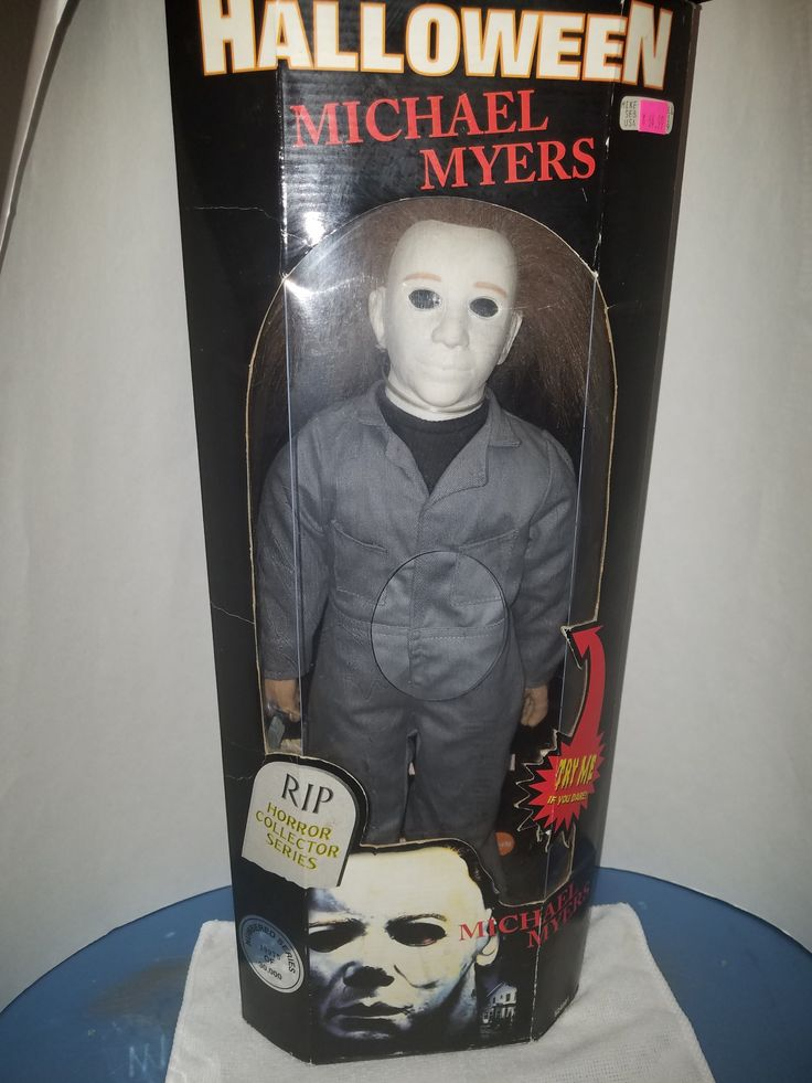 """SPENCER GIFTS INC. HALLOWEEN, 18"""" Michael Myers"""