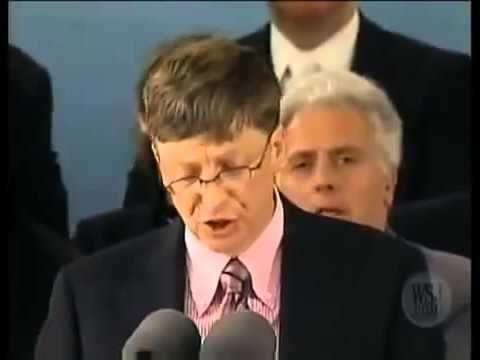 Scott Assemakis - Bill Gates Speech at Harvard Part-2