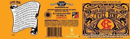 Lindemans - Cuvee Renee Oud Geuze Lambic Ale