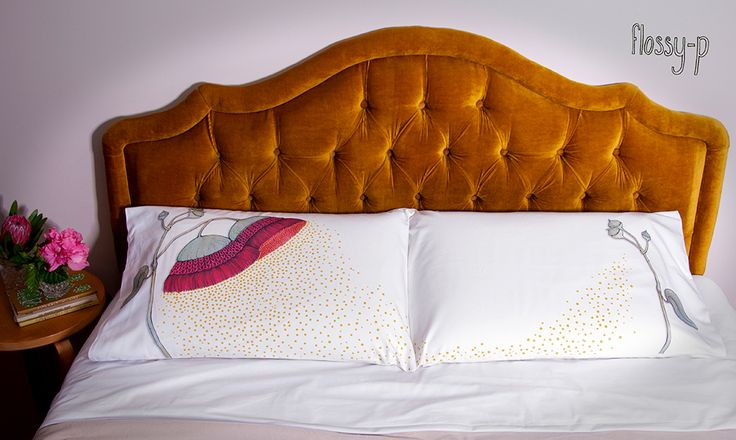 Eucalyptus Pillowcase Set, by flossy-p on Etsy : http://flossypArt.etsy.com  #Pillow #pillowcase #pillowslip #sham #floral #floralbedding #bedlinen #eucalyptus #nativeAustralian #flower #Australian #blossom #flossyp #flossy-p