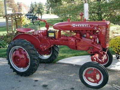 Farmall A. Hope to make mine look this good
