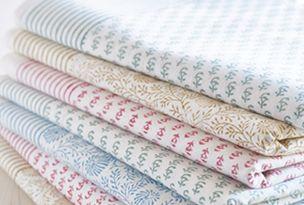 Fabulous hand-block printed tablecloths