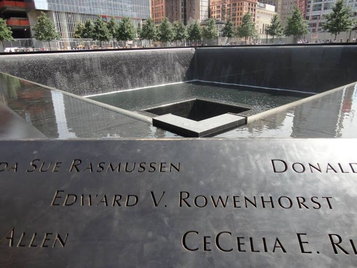 NYC Manhattan - WTC Memorial