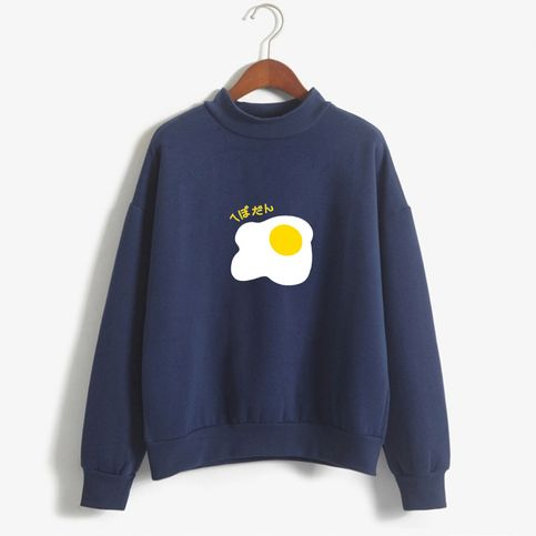 Warm+comfy+egg+crew+neck+sweater